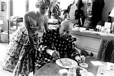 Picasso y Brigitte